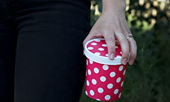Pink Polka Dotty To Go
