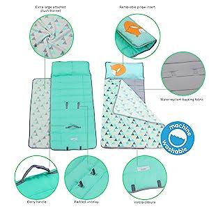 nap mat mats preschool pillow toddler kindergarten kids toddlers boys girls daycare kinder blanket