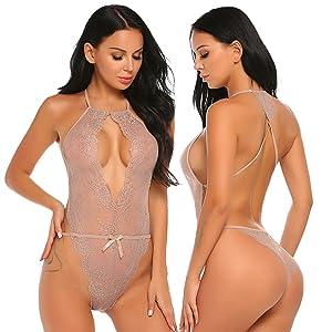 lace teddy lingerie