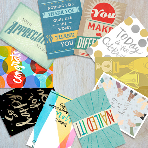 business greeting card packs