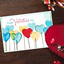 valentine's day cards for customers