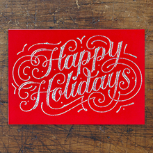 premium business holiday cards