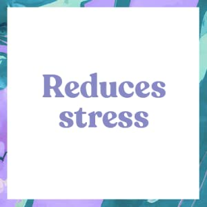 reduces stress