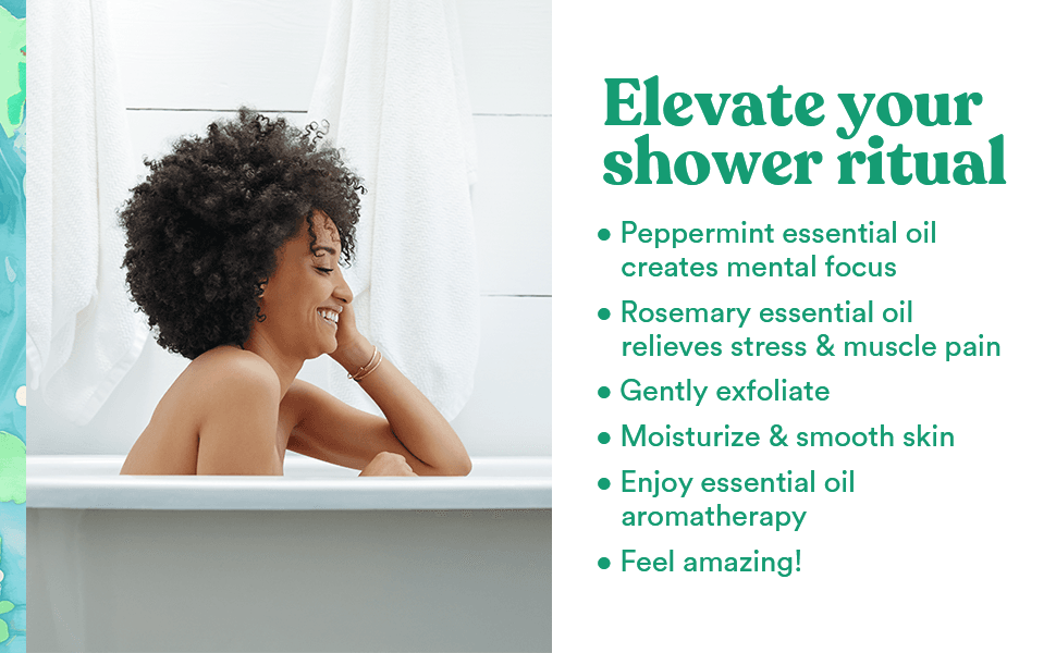 elevate your shower ritual