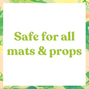 safe for all mats and props