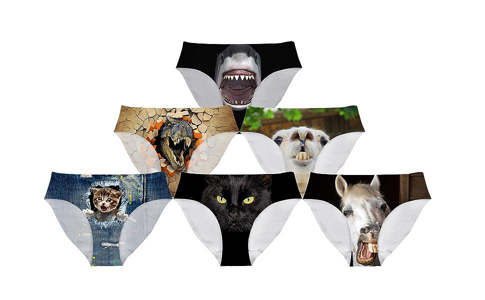 Animal Underwear