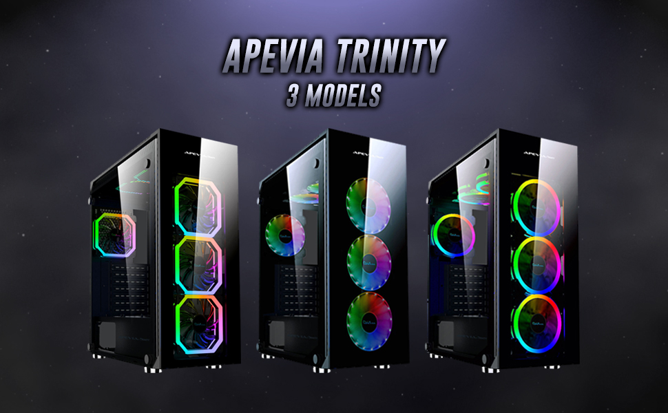 Apevia Trinity 3 PC showcase