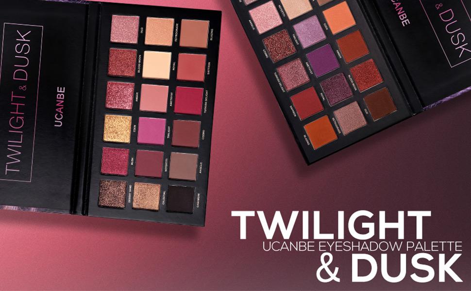 twilight dusk eyeshadow palette