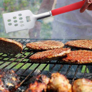 stainless-steel grilling tools