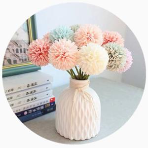 Artificial Chrysanthemum Ball Flowers