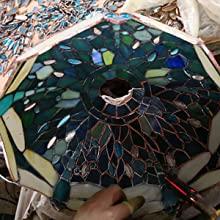 Make Tiffany Lamp