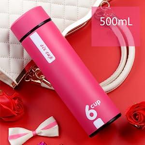 Elegant pink bottle Thermos
