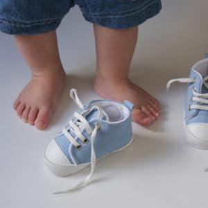 canvas baby sneaker boys 0-6m