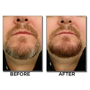 beard dye, beard color, just for men, men's hair, mustache, beard product, beard grooming, gray hair
