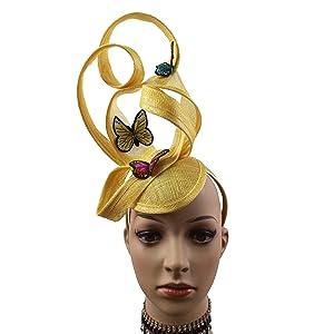 ABPF Abstract Fascinator Headband