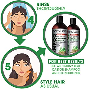 Rinse, Style, Use with Shampoo & Conditioner