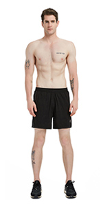 Comfy Lightweight Mesh Lining Workout Shorts