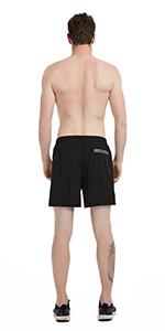 Reflective Pockets Track Shorts