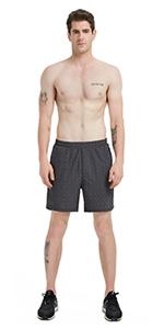 Built-in Drawstring Active Shorts