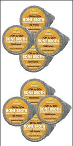 Organic Bone broth single servings