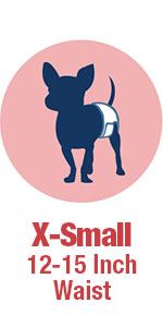 X-Small Disposable Diapers