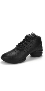 PU leather dance shoes