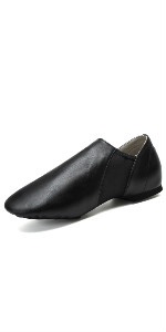 leather dance shoes