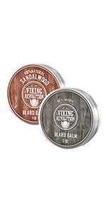 Beard Balm 2 pack citrus/sandalwood balm