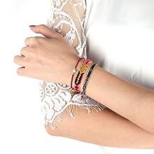 best friend bracelets teen girl gifts boemian bracelet beach bracelets handmade braided bracelet