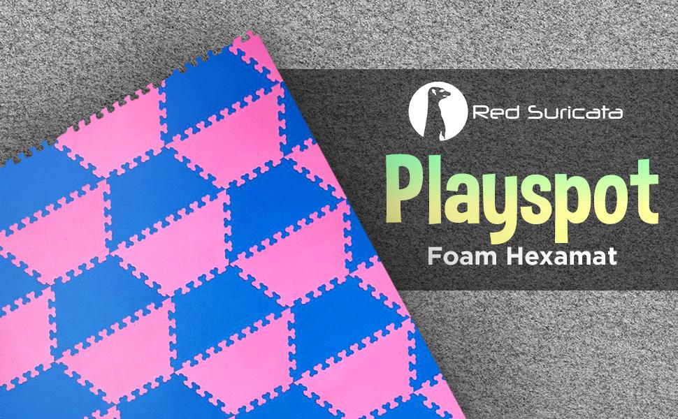 playspot foam hexamat