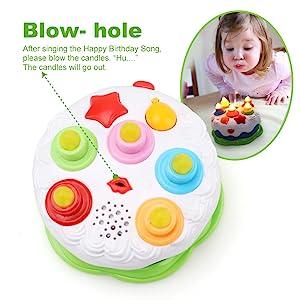 kids birthday cake toy