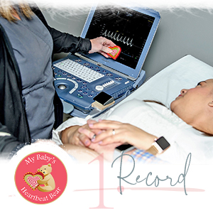record-able heart baby heartbeat recorder