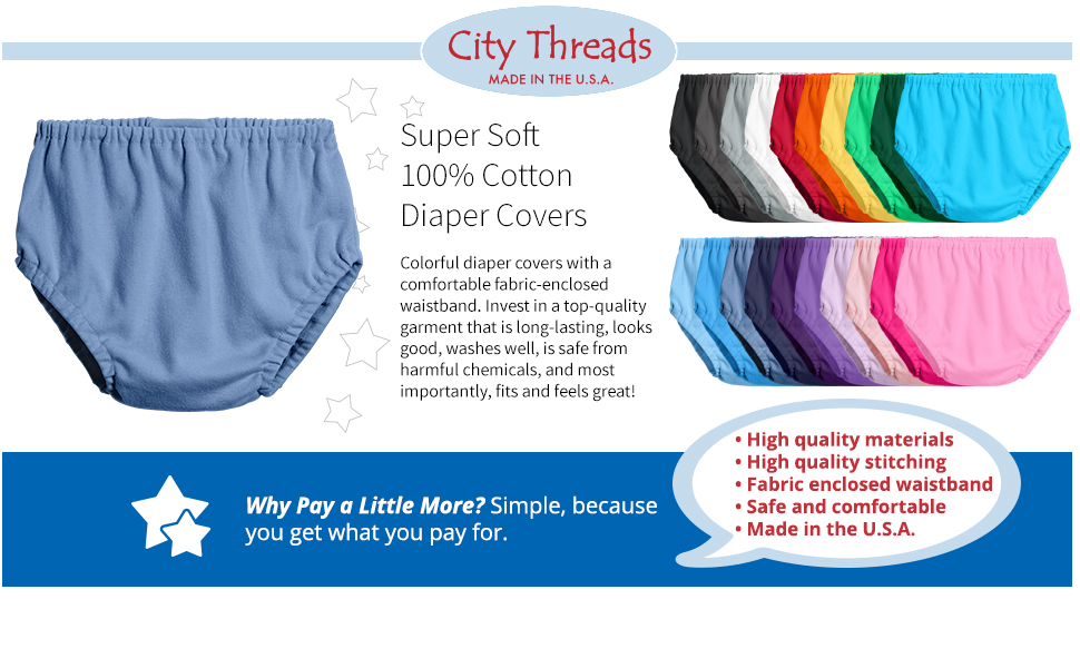 soft cotton diaper covers comfy