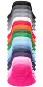 Boys & Girls 100% Cotton Twill Wharf Hat