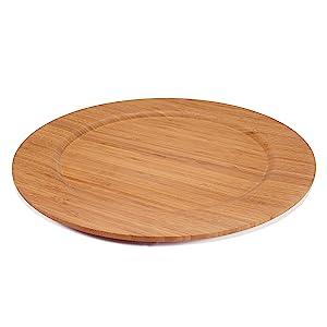 round plates ecoware eco ware bamboo organic bamboomn