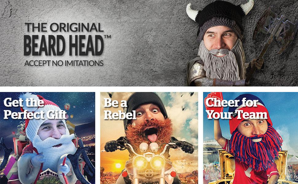 beard hat beanie knitted knit funny viking