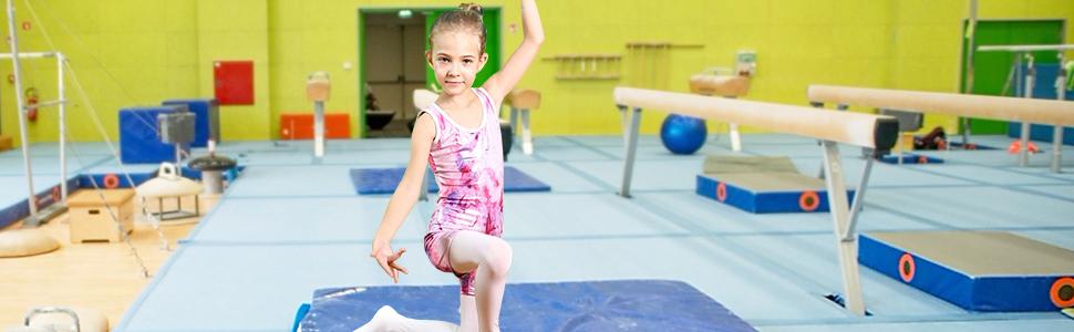gymnastics leotards for toddler girls pink purple