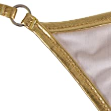 lined bikini