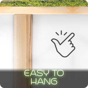 easy to hang