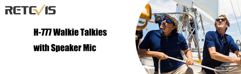 walkie talkies with speaker mic