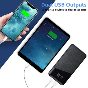 Dual Charge Compact External Battery
