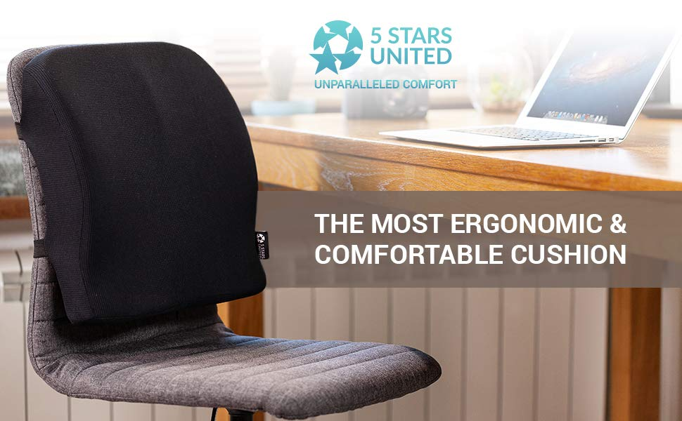 back cushion five stars united pillow for chair home kitchen