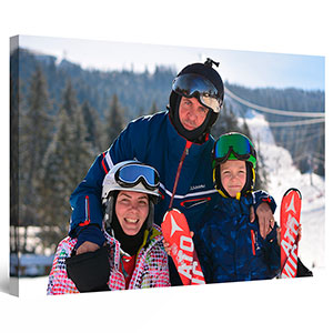 Your photo here custom canvas wall art startonight personalization family kids holiday photos canvas
