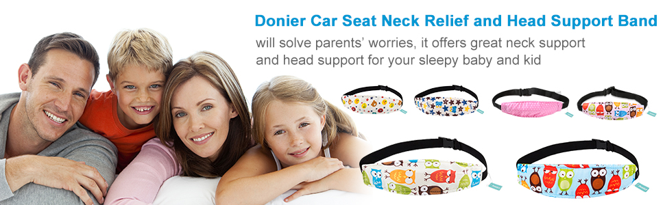 car seat head support toddler