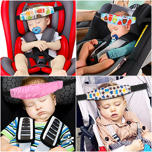 car seat head support toddler Child Car Seat Head Support  Comfortable Safe Sleep Solution