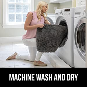 machine wash and dry
