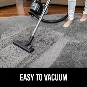 easy to vacuum