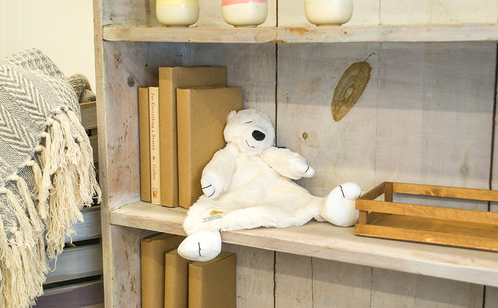 DEMDACO Nat and Jules On the Night You Were Born Polar Bear Plush Stuffed Animal