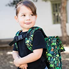 Baby Tula Dinosaur Kids Backpack, Hot Lava