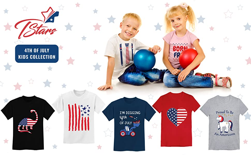 4th of July kids Shirts